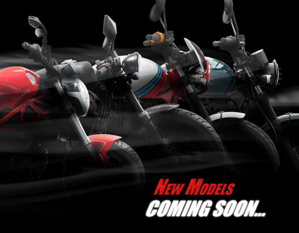 New Models Coming Soon