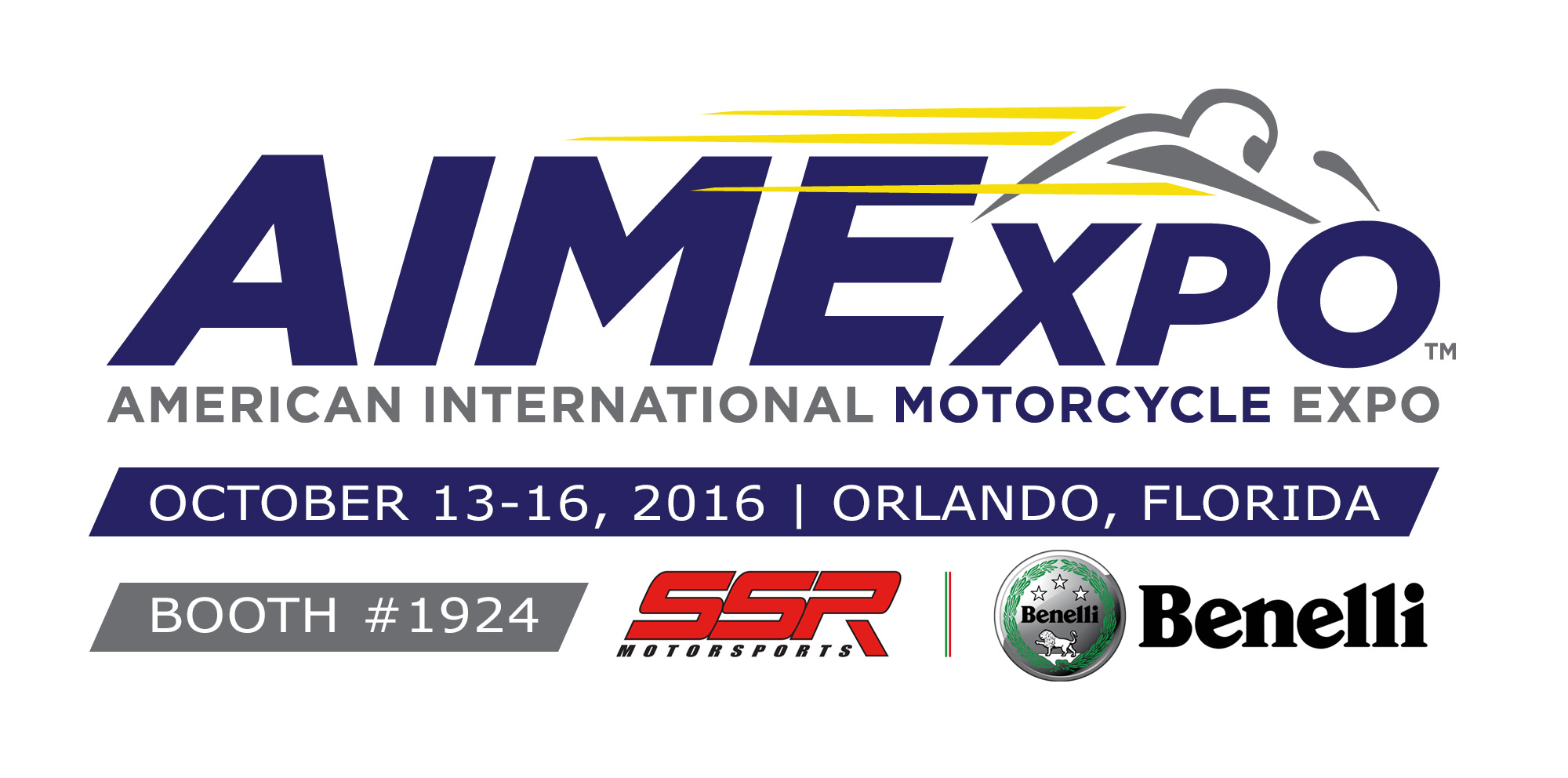 SSR will be attending Aimexpo Oct 13-16