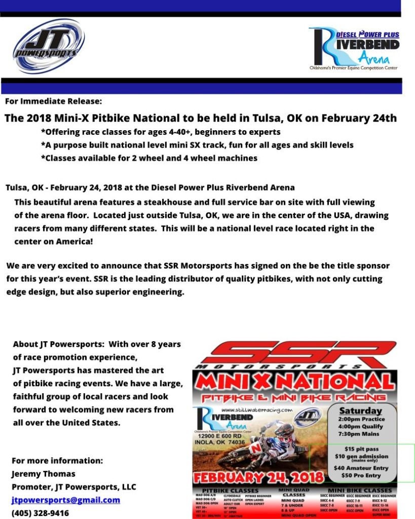National Mini Moto Race Is Back! minix-press