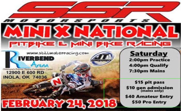 NATIONAL MINI MOTO RACE IS BACK!
