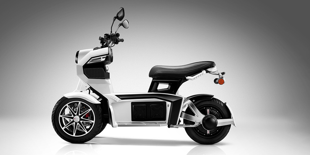 iTank - Distinctive Smart Designed Scooter