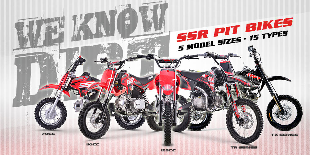 SSR Motorsports - Motorcycles, Pit Bikes, Dirt Bikes, Scooters, Side
