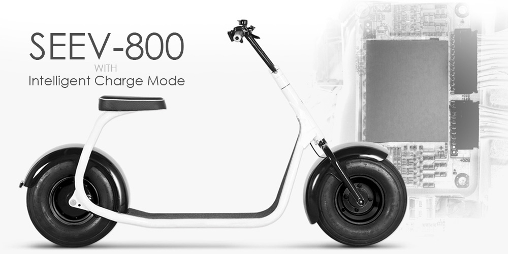 SEEV-800 Electric Scooter with Smart Charge Mode
